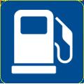 Symbol Tankstelle